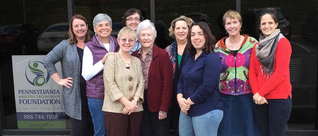 Photo of PATF staff