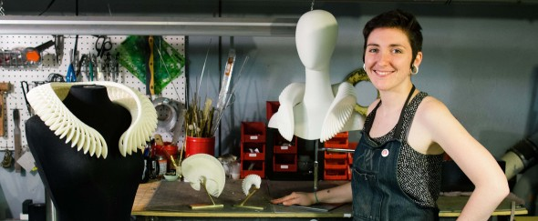 Featured image forPhiladelphia Artist's Hearing Loss Inspires Her Wearable Sculptures