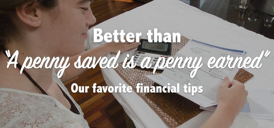 Featured image for Our Favorite Financial Tips