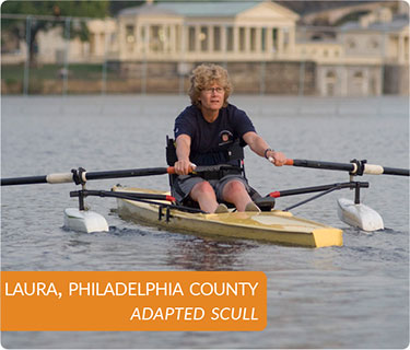 Laura, Philadelphia County, Adapted Scull.