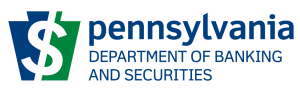 PA Dept Banking and Securities logo