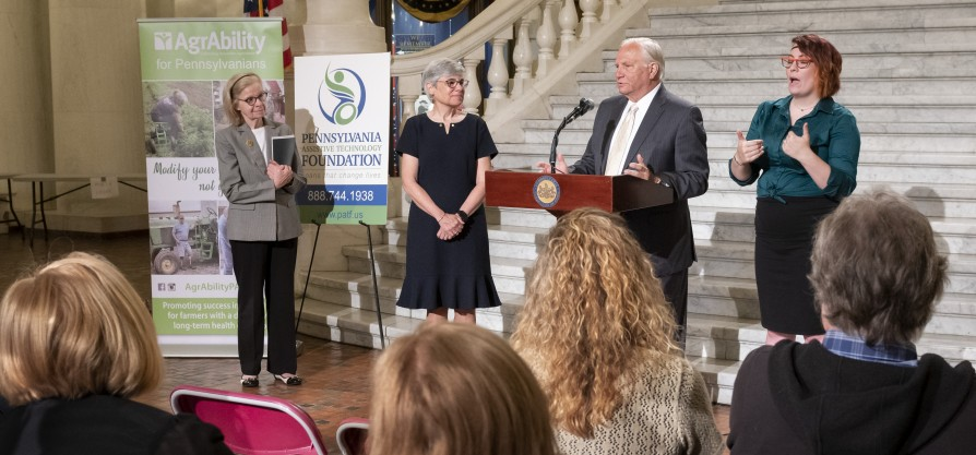 Featured image forAlmost $1.5M Extended in Consumer Loans to Pennsylvanians with Disabilities for Assistive Technology in 2018