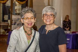 Representative Mary Jo Daley and PATF CEO Susan Tachau smile at the camera.