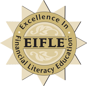 Excellence In Financial Literacy Education EIFLE award badge.